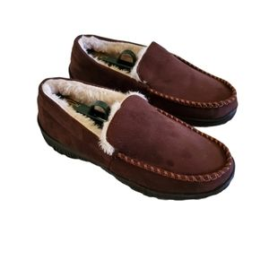 Amazon Essentials Men's Moccasins Slippers Size 8